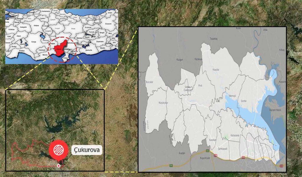 çukurova mahalle haritası