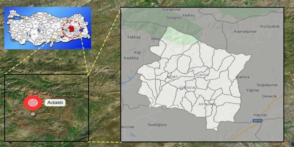 adaklı mahalle haritası