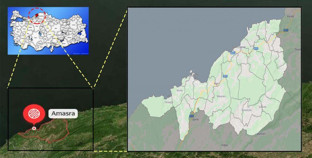 amasra mahalle haritası
