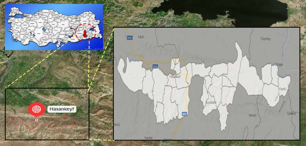 hasankeyf mahalle haritası