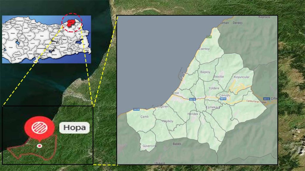 hopa mahalle haritası