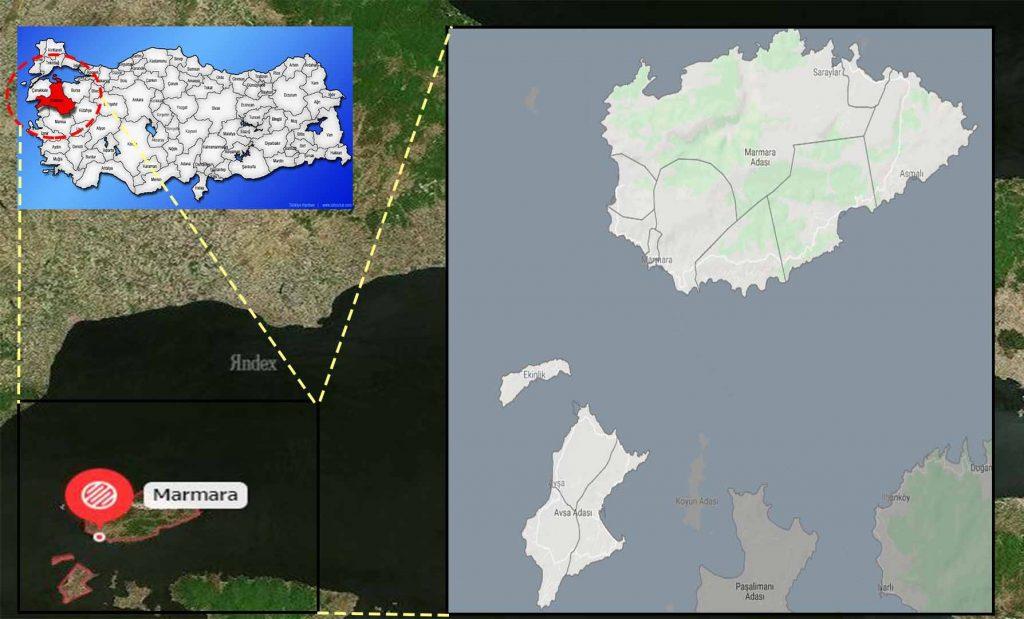 marmara mahalle haritası