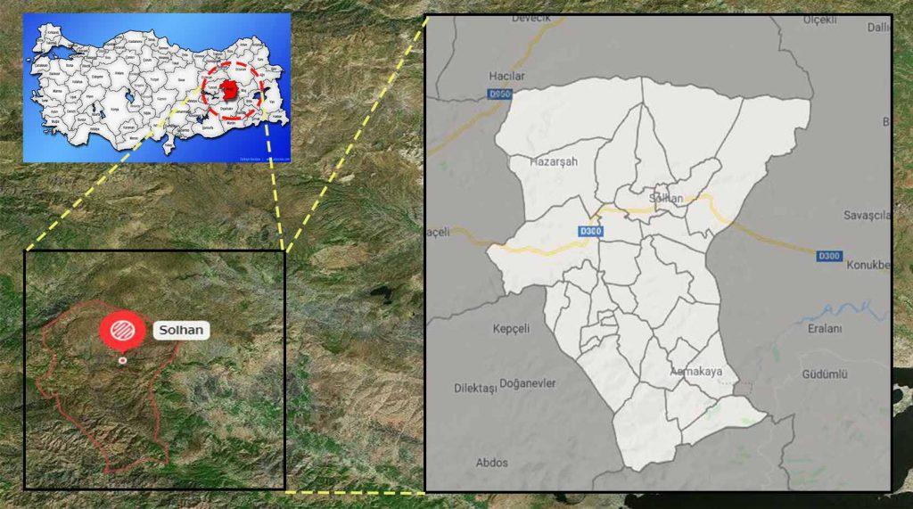 Solhan mahalle haritası