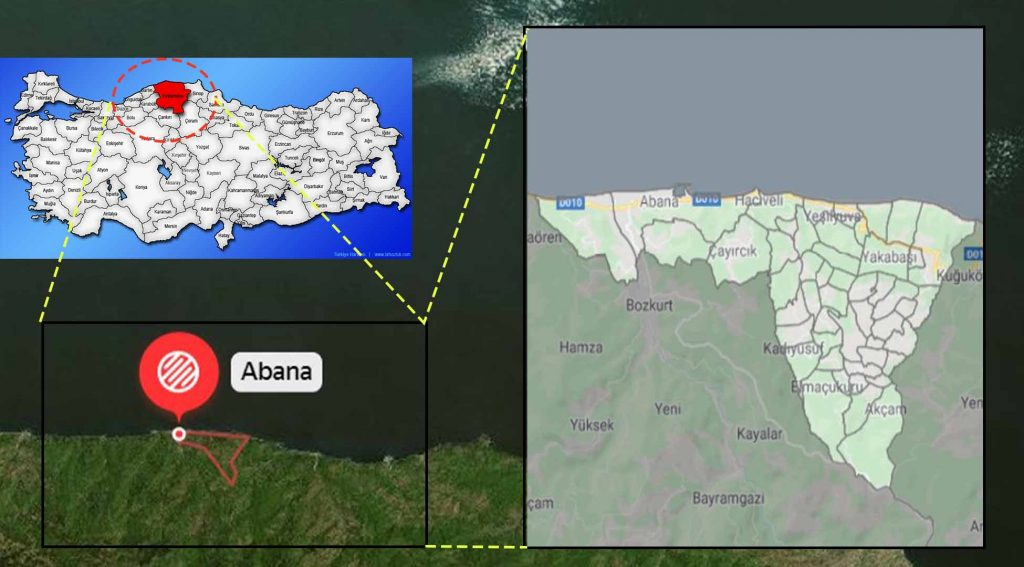 Abana mahalle haritası