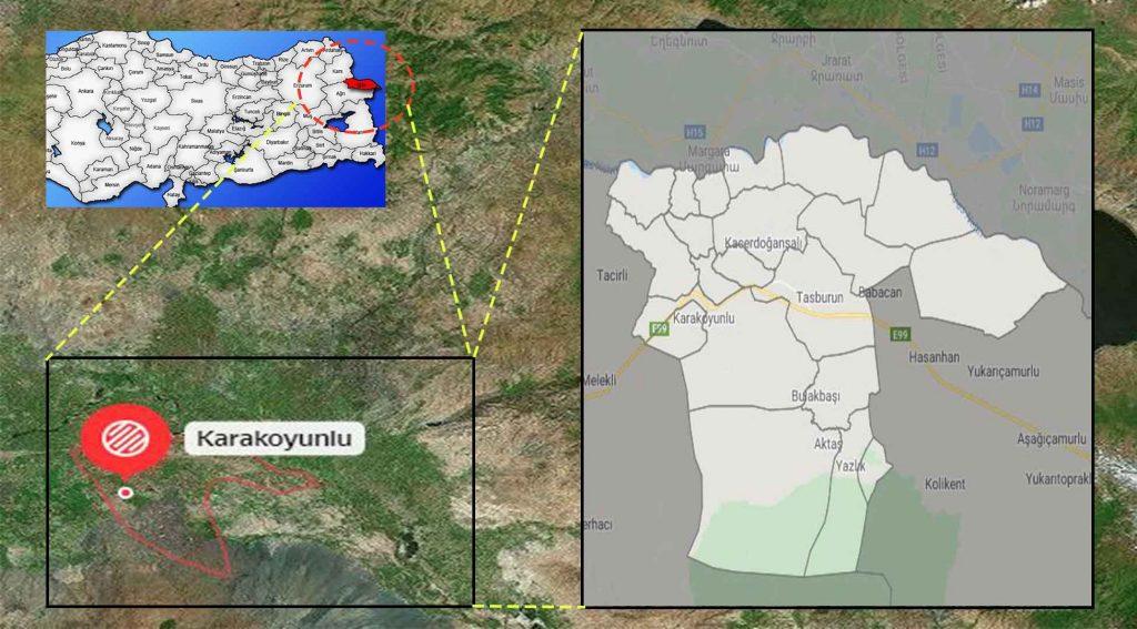 Karakoyunlu mahalle haritası