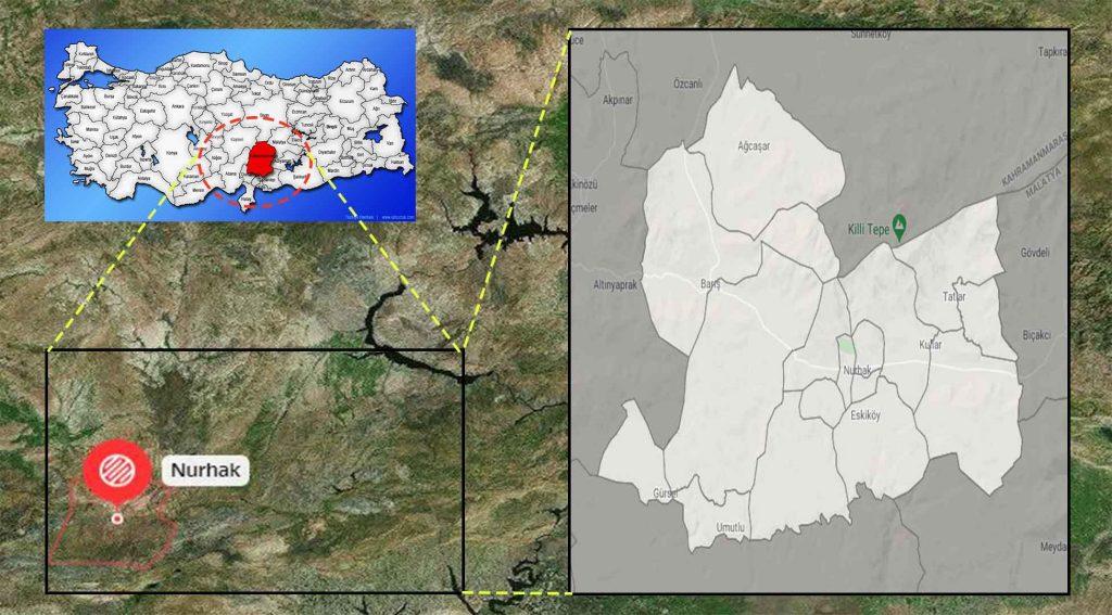 Nurhak mahalle haritası