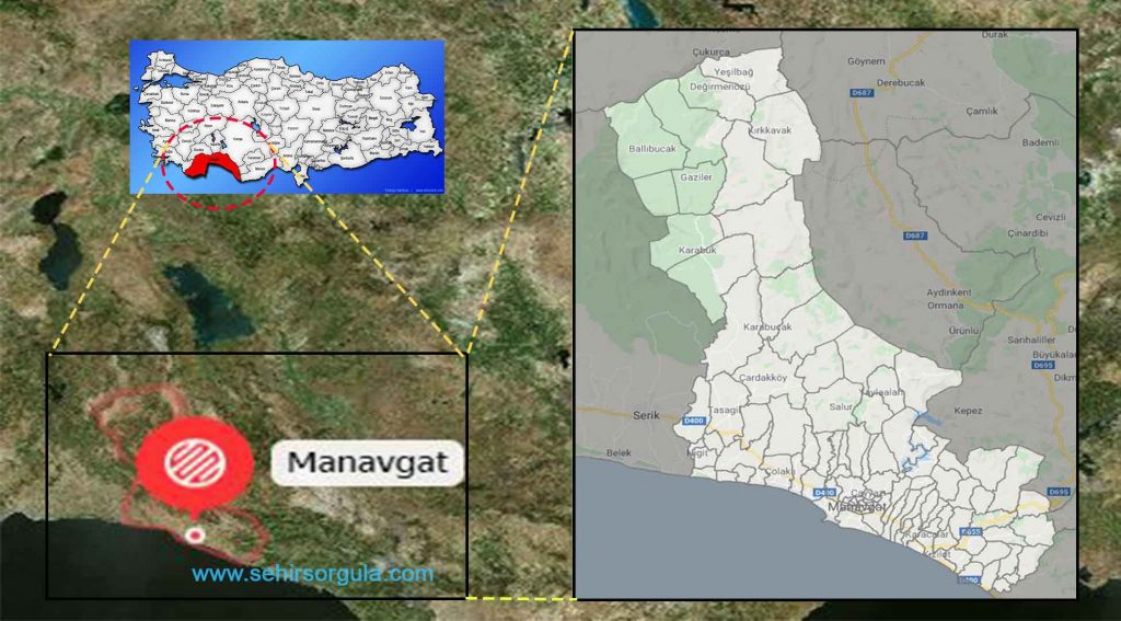 Manavgat Mahalleleri