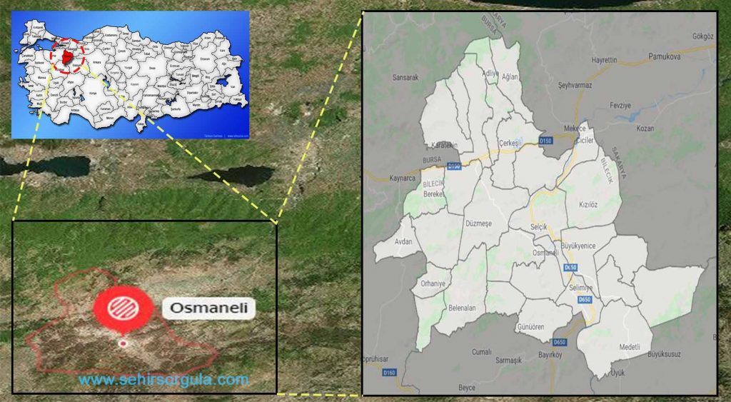 Osmaneli Mahalleleri