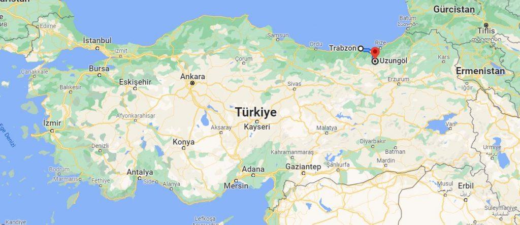 Trabzon Uzungöl Arası Kaç KM