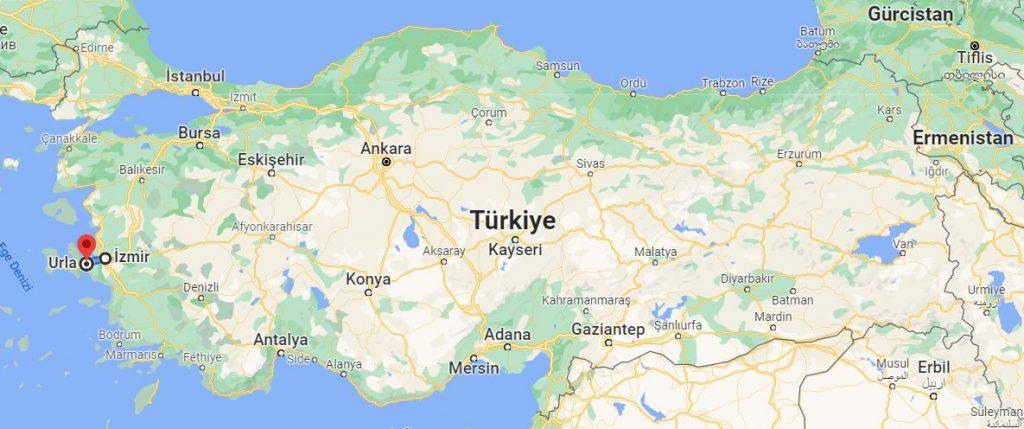 İzmir Urla Arası Kaç KM