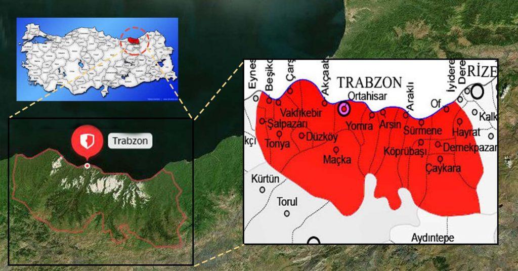 Trabzon Posta Kodu
